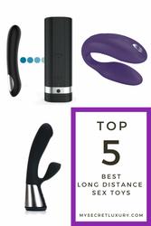 5 Top Best Long Distance Sex Toys 2021