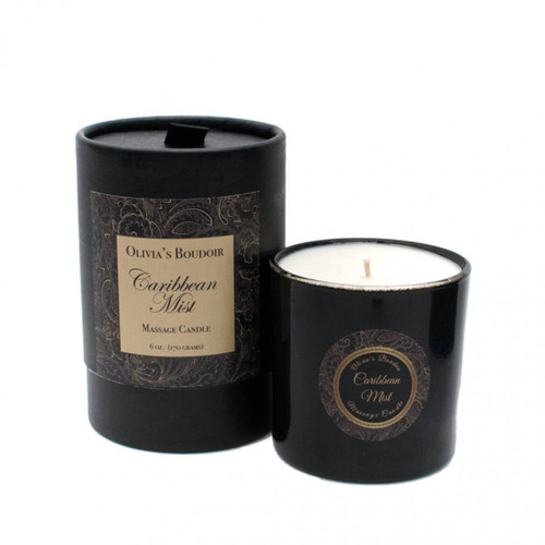 Olivias Boudoir Massage Oil Candle