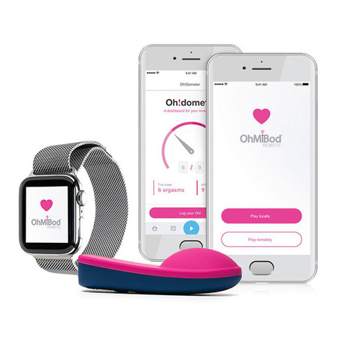 OhMiBod blueMotion Wearable Vibrator