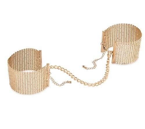Bijoux Indiscrets Desir Metallique Mesh Handcuffs