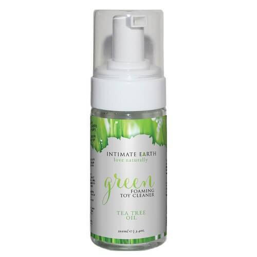 Intimate Earth Green Tea Tree Oil Foaming Toy Cleanser