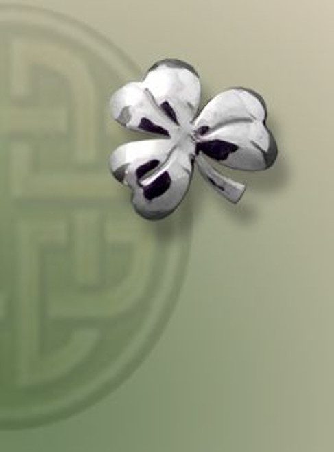 Shamrock Lapel Pin