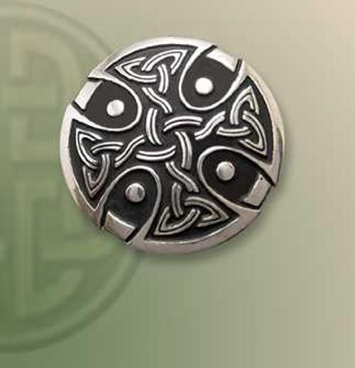 Caithlin Cross Lapel Pin
