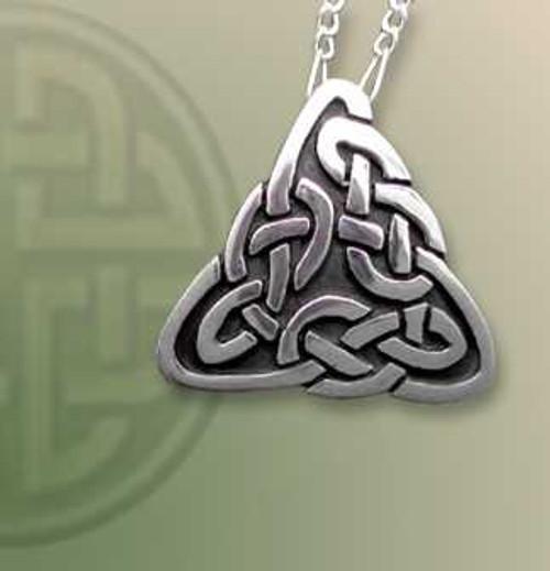 Lindisfarne Knot Lapel Pin