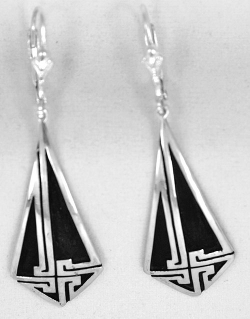 A'isling Cross Dangle Pendant Earrings