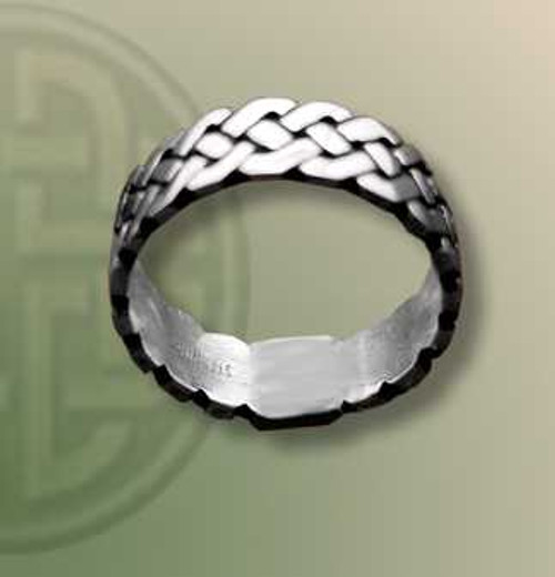 Woven Band Ring