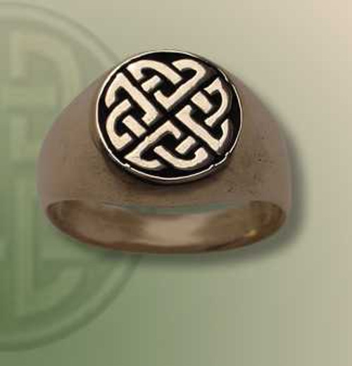 Lover's Knot Signet Ring