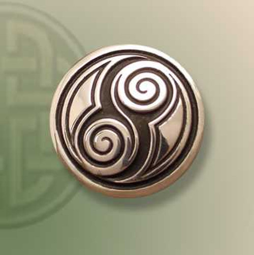 Two Spirals Brooch