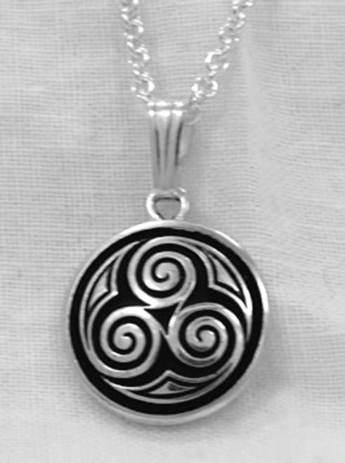 Three Spirals Pendant