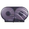"San Jamar Oceans Twin 9"" Tissue Dispenser - Black Pearl"