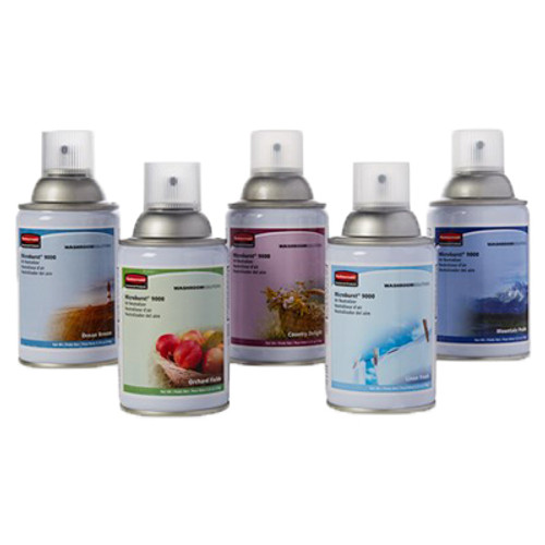 Rubbermaid Microburst 9000 Refills (Case of 5) - Preference Pack