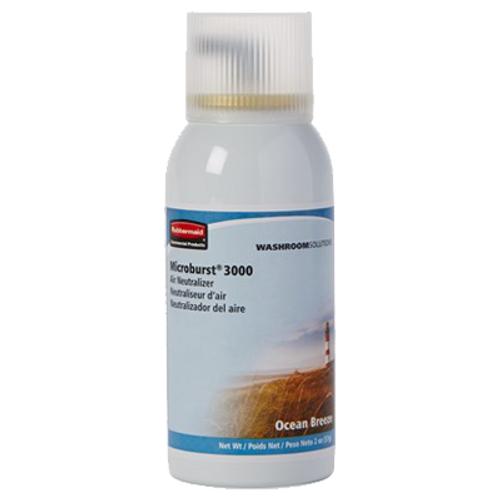 Rubbermaid Microburst 3000 Refills (Case of 12) - Ocean Breeze