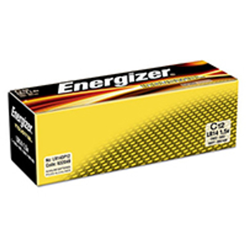 Energizer Industrial Alkaline C Batteries (Box of 12)