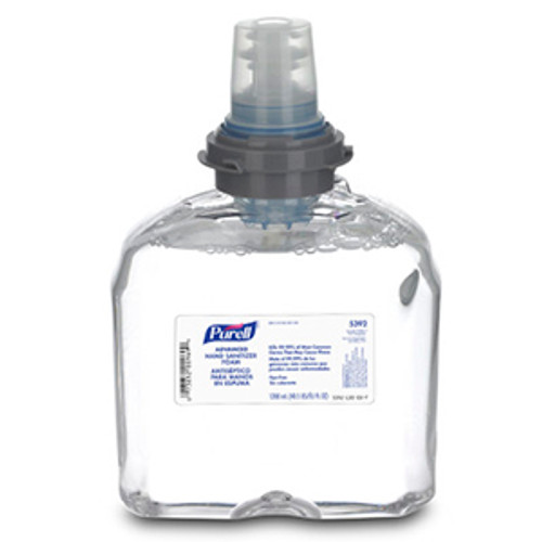 Purell TFX 1200ml Hand Sanitizer Foam Refills (Case of 2)