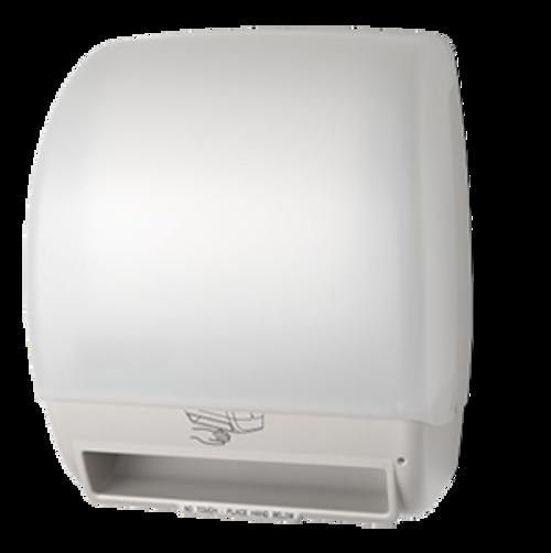 Palmer Fixture Electra Touchless Paper Towel Dispenser - White Translucent