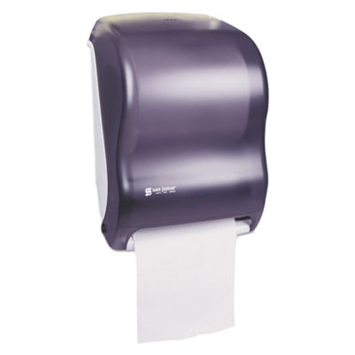 San Jamar Tear-N-Dry Touchless Towel Dispenser - Black Pearl