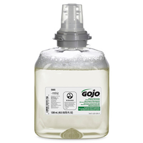 Gojo TFX 1200ml Green Certified Foam Hand Cleaner Refills (Case of 2)