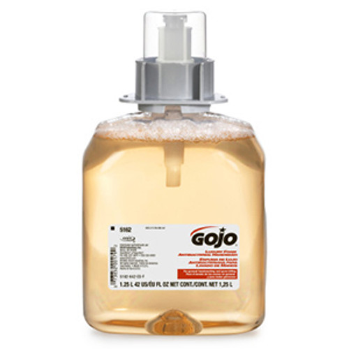 Gojo FMX-12 1250ml Luxury Foam Antibacterial Handwash Refills (Case of 4)