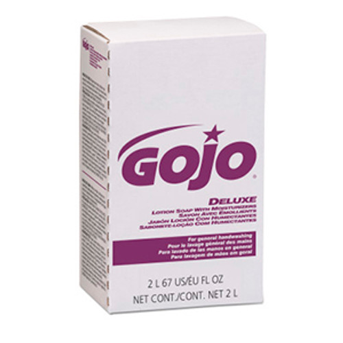 Gojo NXT Maximum Capacity 2000ml Deluxe Lotion Soap with Moisturizers Refills (Case of 4)