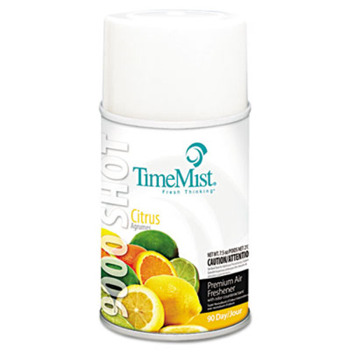 TimeMist 9000 Shot Refills (Case of 4) - Citrus