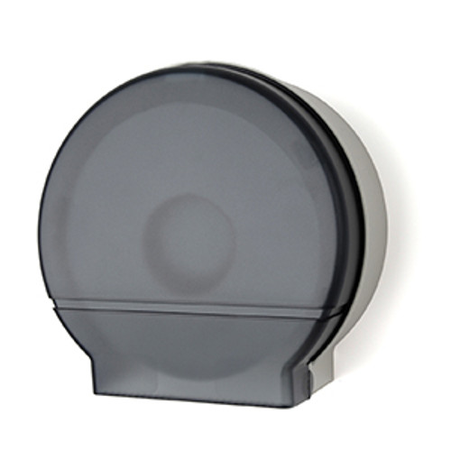 "Palmer Fixture Single 9"" Jumbo Tissue Dispenser - Dark Translucent"