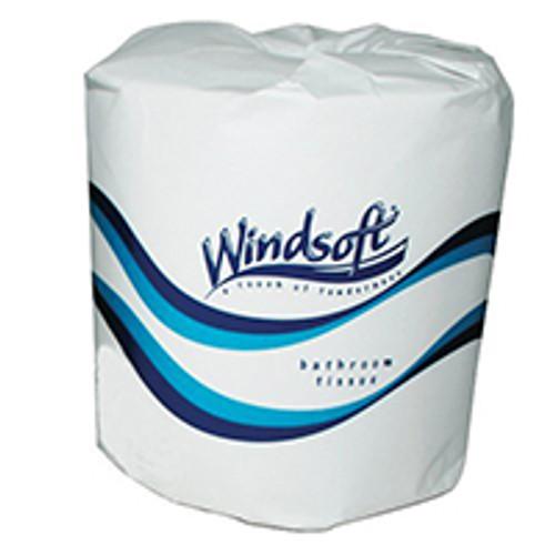 Windsoft Standard Two-Ply Bathroom Tissue Rolls (Case of 96)