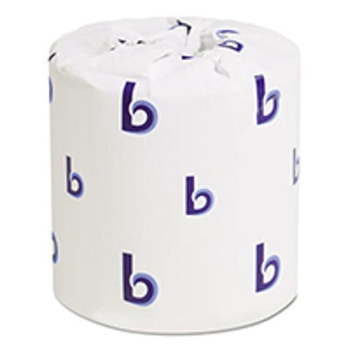 Boardwalk Standard Two-Ply Toilet Tissue Rolls (Case of 96)