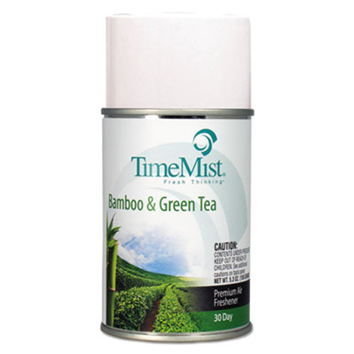 TimeMist Standard Size Refills (Case of 12) - Bamboo & Green Tea