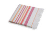 Woven Terry Lined Beach Towel - Pink/Orange by Shade Critters