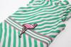 Fashion Flamingo Belt Ruffle Shoulder Swimsuit  by Shade Critters UPF50 Alt Image