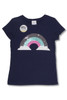 Magic Two-Way Sequins T-shirt - Rainbow  by Shade Critters Alt Image
