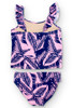 Navy/Pink Palm Reader Tankini Set  by Shade Critters UPF50 Alt Image