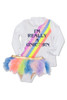 I'm Really a Unicorn Rashguard Set (Unicorn changes color in the sun)  by Shade Critters UPF50