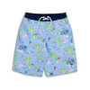 Youth Boys Periwinkle Tiki UPF 50+ Swim Trunks