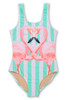 Flamazing Scoop Swimsuit  by Shade Critters UPF50