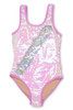 Tween Purple/Silver Flippable Sequins Scoop Swimsuit by Shade Critters UPF50 alt2
