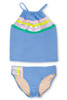 Periwinkle It's All Rainbows Tankini Set by Shade Critters UPF50