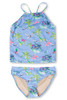 Periwinkle Tiki Tankini Set  by Shade Critters UPF50
