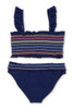 Women's Rainbow Smocked Bikini Set  by Shade Critters UPF50 Alt Image