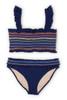 Women's Rainbow Smocked Bikini Set  by Shade Critters UPF50