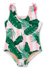 Picture of Pink Cabana Botanical Scoop Swimsuit w/Fringe