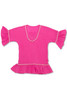 gauze coverup-pink