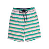 Youth Boys - Embroidered Palm Trees - 4 Way Stretch Swim Trunks