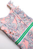 pic of One Piece Ruffle Shoulder - Pink Monstera