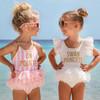 One Piece - On Pointe UPF 50+ Girls Swimsuit