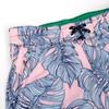 Youth Boys - Pink Monstera - 4 Way Stretch Swim Trunks