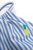 pic of Two Piece Tankini - french blue stripe halter neckline