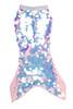 Mermaid tail - pink irridescent pailette skirt