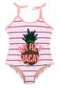 One piece  Magic Flip Sequin- Striped Pineapple