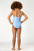 Blue Leopard Magic Flip Sequin 1PC Swimsuit